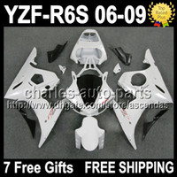 7gifts+ Seat cowl Fairing Kit For YAMAHA YZFR6S 06- 09 ALL Whi...