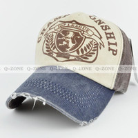 Wholesale New The Lion Logo Baseball Caps Fashion For Men and Women to Retro Ways Do Old Hat