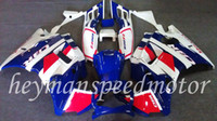 Comression Mold For Honda CBR600 F2 Body Kit Fit For Honda blue white CBR 600 RR F2 91 92 93 94 CBR600RRF2 1991 1992 1993 1994 F2 91-94 Aftermarket ABS Fairing