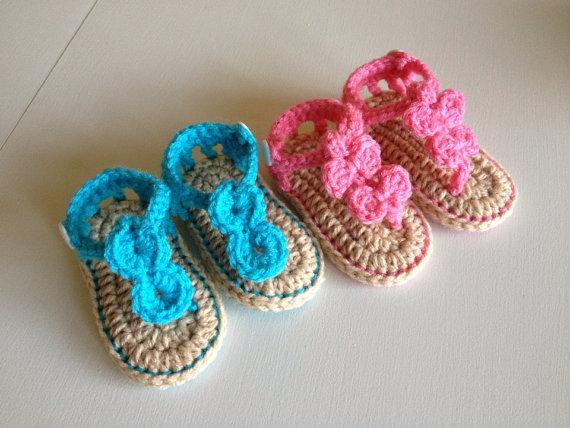 Оптом - Вязание крючком детские сандалии первые ботинки ходока цвет матч детские тапочки лук галстук круглая кнопка горный хрусталь 0-12M двойной