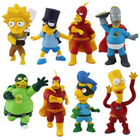 Multicolor action figure values - The Simpsons cm Genuine single tail The Simpsons Action Figure Doll Bart doll toys Value f