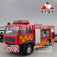 5-7 Years Bus Metal Good plain 911 fire truck alloy toy WARRIOR car model