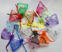 Wholesale Jewelry Pouches bags Silk Fabric Jewelry Roll Bag Storage Case Gift Pouches Packaging Bag Jewellry bags candy bags