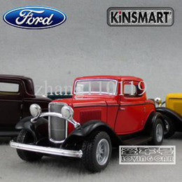 Wholesale Soft world FORD classic car alloy car toy model FORD nostalgic cars