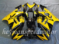 Comression Mold aftermarket body kits - Body Kit Fit For Honda yellow black CBR RR F3 CBR RR F3 F3 Aftermarket ABS Fairing