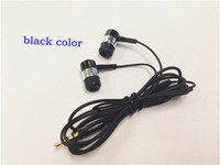 Wholesale Earphones For Iphone s Iphone For HTC Sumsong S3 S4 For MP3 MP4 CD DVD IPOD For TDK EB Listen To Music TPU Cable TPU Black Colorear