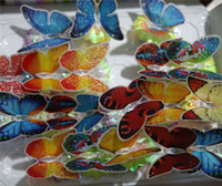 Auto baby gift usa - Christmas Multicoloured Butterfly LED Night Lights Wedding Room Decoration Baby Night Light LED Christmas Gifts opec