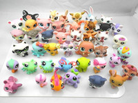 Wholesale Littlest Pet Shop LPS Animasl Loose Figures Collection toy pieces