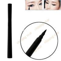 Waterproof Pencil Eyeliner Free shipping Design Instant Black Quickly Dry Liquid Eyeliner Pencil Eyeliner Pen Cosmetic New S10831