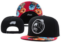 Wholesale TRUKFIT Feelin Spacey Boys Snapback Floral Black Red Caps hip hop headwear mix order adjustable baseball basketball football sports hats