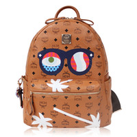 Wholesale Hot New Arrival Luxury Brand MCM EYES ON THE HORIZON Backpack Summer New Arrival Mens amp womens Backpack