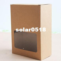 Wholesale cm Kraft Paper Box with window Baking Cake Gift Dry Fruit Packaging Box