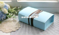 Wholesale 21x12 x6cm cardpaper Macaron box bakery case packing Cupcake boxes case