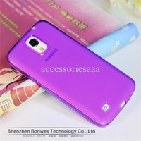 For Samsung Case PU 10pieces lot, Candy color Translucent Soft Rubber Silicone TPU Gel soft Case for Samsung Galaxy Mega 6.3 i9200 i9205
