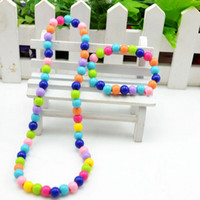 Bracelet beads for bracelets and necklaces - Candy Colorful Bead Pendant Bracelet and Necklace For Kids Jewelry Set Cheap Jewelry Handmade Jewelry For Kids Sets