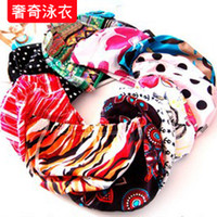 other other  Special Price Cloth swimming cap swimwear high-elastic fabric fashion fancy cloth swimming cap