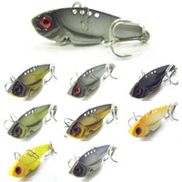 Wholesale Fishing Lure Blade Lure VIB Hard Bait Fresh Water Shallow Water Bass Walleye Crappie Minnow Fishing Tackle BL3L