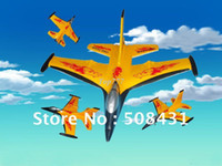 Electric 2 Channel 1:4 Christmas gift RNovel item! Free shipping -2CH RC radio plane F-16 fighter aircraft glider toy -Newnest Design-Promotion Price!