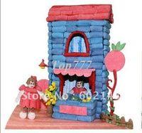 Wholesale Christmas gift RFashionable style wholesales intelligence toys Creative DIY magic corn children assembles toy gr