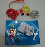 Wholesale Christmas gift RHot metal fusion new mixed deliver SUPER TOP GYRO Beyblade Beyblade spin peg top toy