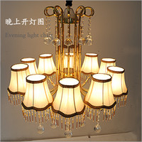 Wholesale Factory direct top K9 Crystal light Modern crystal chandelier Eliza D80 H70CM