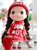 Wholesale Children Gift Cute DDUNG DOLL Shoulder Bag Girl Key Chain Pendant Ornament Phone Charm Great Gift Plush cm colors