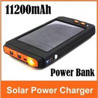 Wholesale 11200 mAH Portable Solar Power Panel external Charger for Laptop Digital Camera Cellphone EL106783