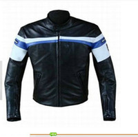 Wholesale PU Jacket motorcycle leather riding racing jacket motorcross jackets motorcycle locomotive jackets Motorbike Jackets Size M L XL