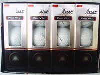 golf ball - New product golden golf accessary v1 golf ball china post freeshipping