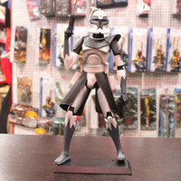 Wholesale Star wars white Large hand done pvc doll