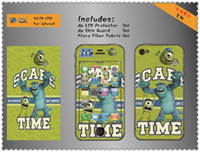 Wholesale 150pcs Despicable Me and Monsters University Cellphone Skins For iphone5C charming cellphone stickers