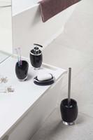 Wholesale Fashionable translucent resin bathroom accessories washroom set set on sale ST1007