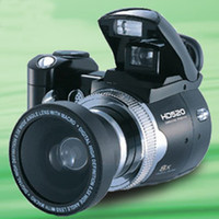 Wholesale 2 inch LCD screen HD520 digital video camera MP max X Digital Zoom Support up to G