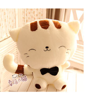 Cats/Mice/Dogs colorful Plush Free shipping holiday sale gift super cute 65cm plush animal big face cat happiness doll toy soft cushion pillow 1 pc a lot
