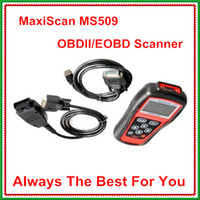 Wholesale Automotive Diagnostic tool MaxScan MS509 OBD2 EOBD Car Diagnostic Code Reader Scanner DHL