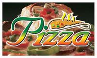 pizza sign - bb127 Pizza Cafe Shop Banner Shop Sign