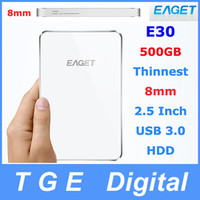 E30 500gb external hard drive - Original Eaget E30 GB quot Inch USB External Moblie Portable Hard Disk Drive HDD The Thinnest mm White