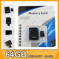 TF / Micro SD Card 64GB 50pcs 64GB Micro SD SDHC MicroSD TF memory card 64GB Gift For 5D 60D 70D 700D EOS 6D 5D