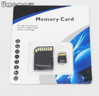 Wholesale Genuine GB Micro SD Card Memory Card TF Card Flash Card with Adapter Retail Package Drop