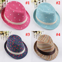Wholesale Baby Kids Children s Caps Accessories Hat Boys Grils Hats Fedora Hat Mixed Colors MZ