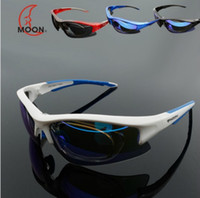 Wholesale Moon Bicycle Sunglasses Eyewear Road Cycling Goggles Polarization Riding Glasses Outdoor Anti wind Lens