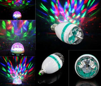 Wholesale KTV LED Colorful Bulb RGB Crystal Magic Ball KTV Moving Head LED Light which is Fit For KTV Private Party Room DJ Disco Stage Lighting
