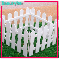 Wholesale christmas tree wood whit fence guardrail Christmas decoration size can choose