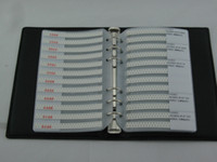 Wholesale 0603 a pratical SMD resistor and capacitor sample book