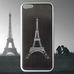 Wholesale New Arrive Cell Phone Case iphone c Case Eiffel Tower Case DHL EMS Free Ship