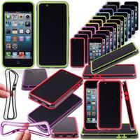 TPU Plastic Bumper Frame Cover Case for Iphone5C