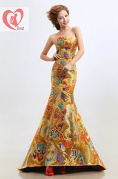 Wholesale Traditional chinese clothing cheongsam dress women s evening dress chinese wedding dress cheongsam Ethnic Clothing