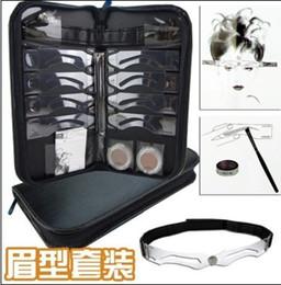 Best Sell Permanent Makeup Eyebrow Stencils 8 Designs Make-up Accessories