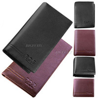 Wholesale Mens Luxury Genuine Leather Wallet Purse ID Credit Card Holder Bifold Wallet