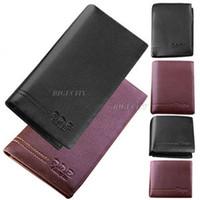 Wallets genuine leather wallet - Mens Luxury Genuine Leather Wallet Purse ID Credit Card Holder Bifold Wallet